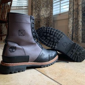 Timberland limited edition mixed-media boots